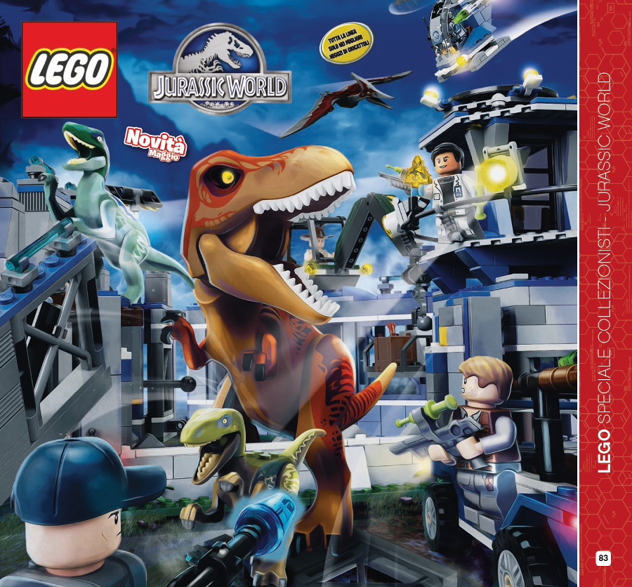Point Brick Blog Novità Lego 2015 Jurassic World I Set Del Film