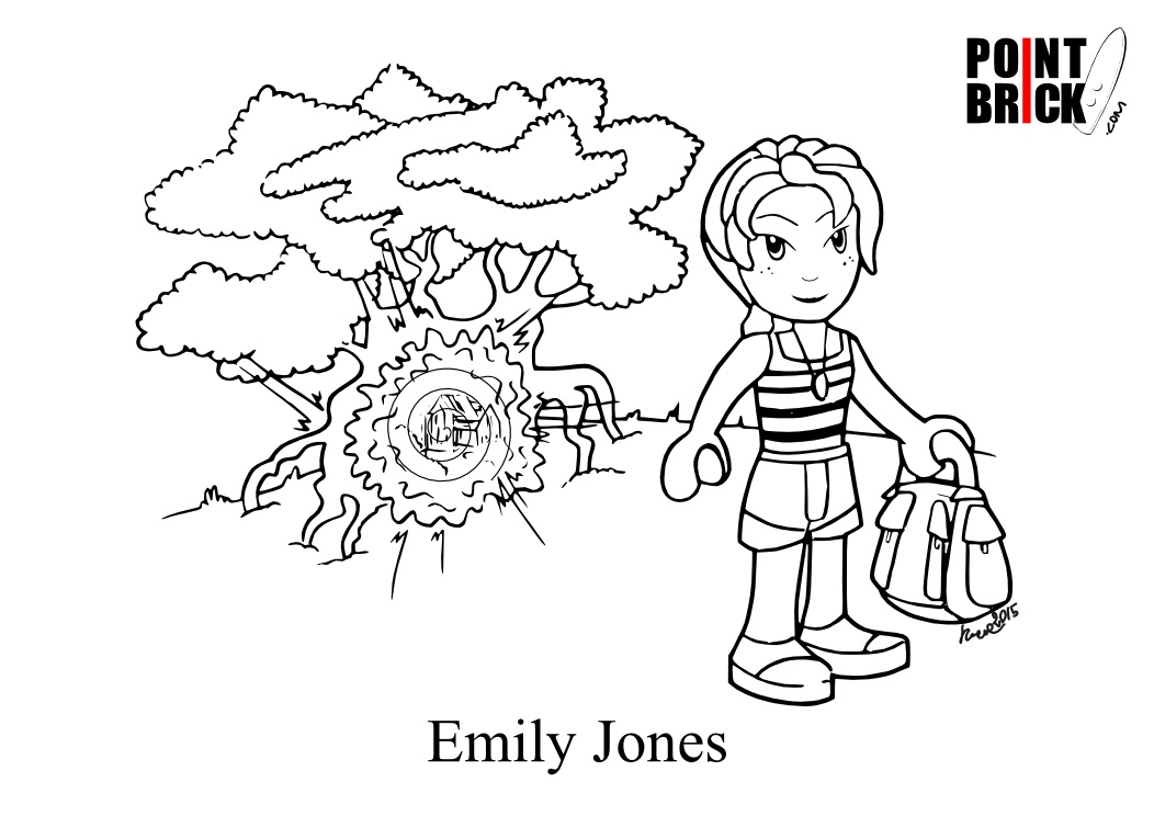 lego elves coloring pages - photo#29