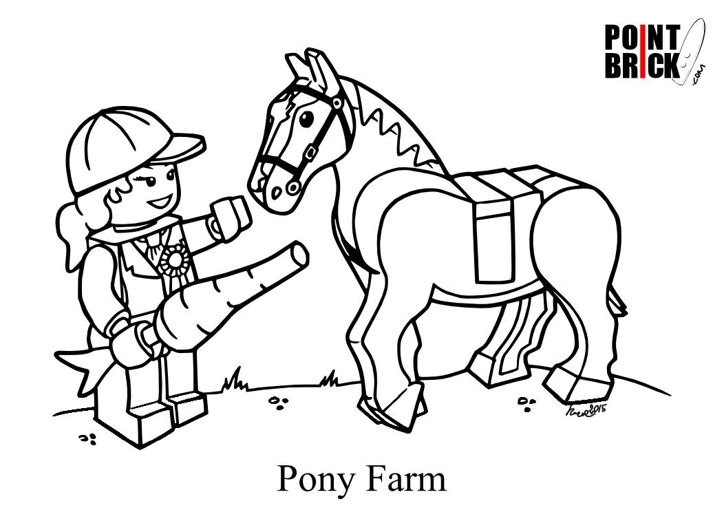 Point brick blog disegni da colorare lego spiderman e la - Pony da colorare in immagini ...