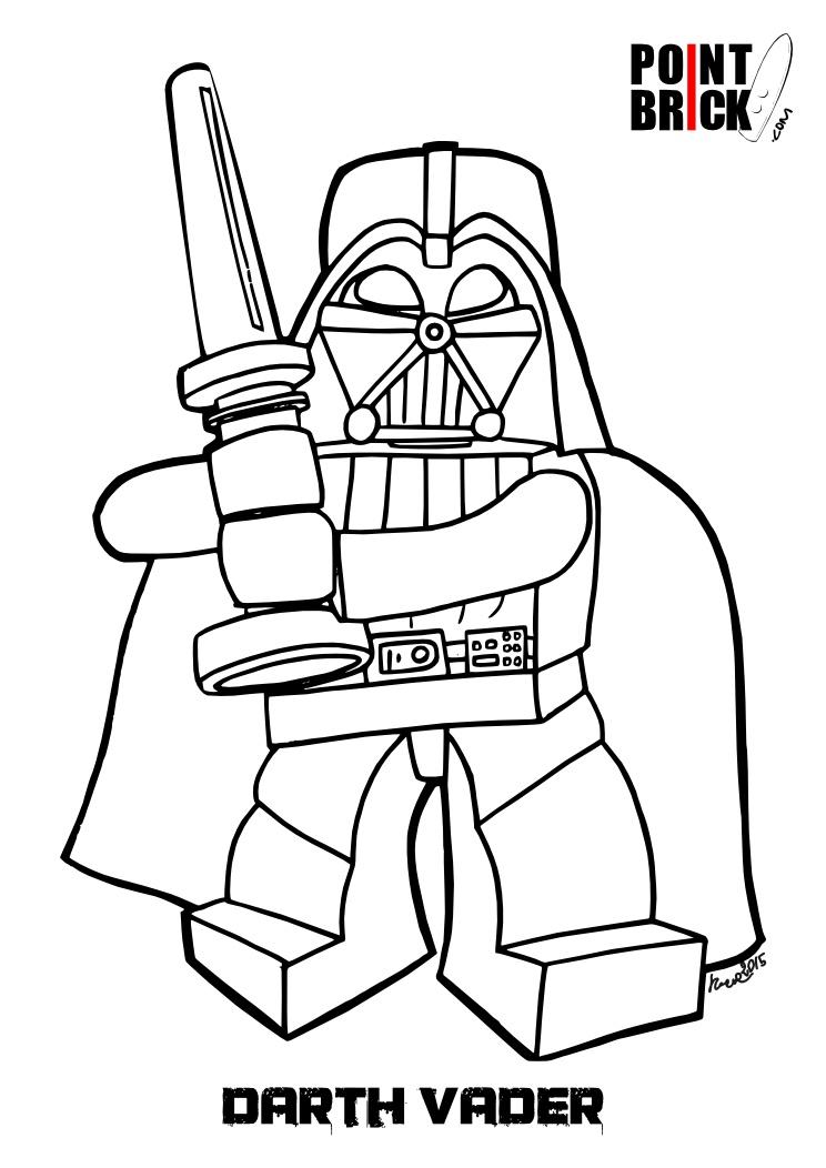 Point Brick Blog Disegni Da Colorare Speciale Lego Star Wars Day