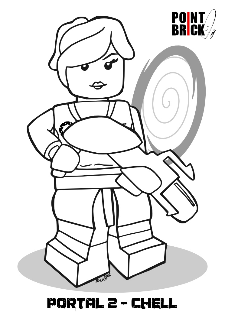 lego ghostbusters coloring pages - photo#23