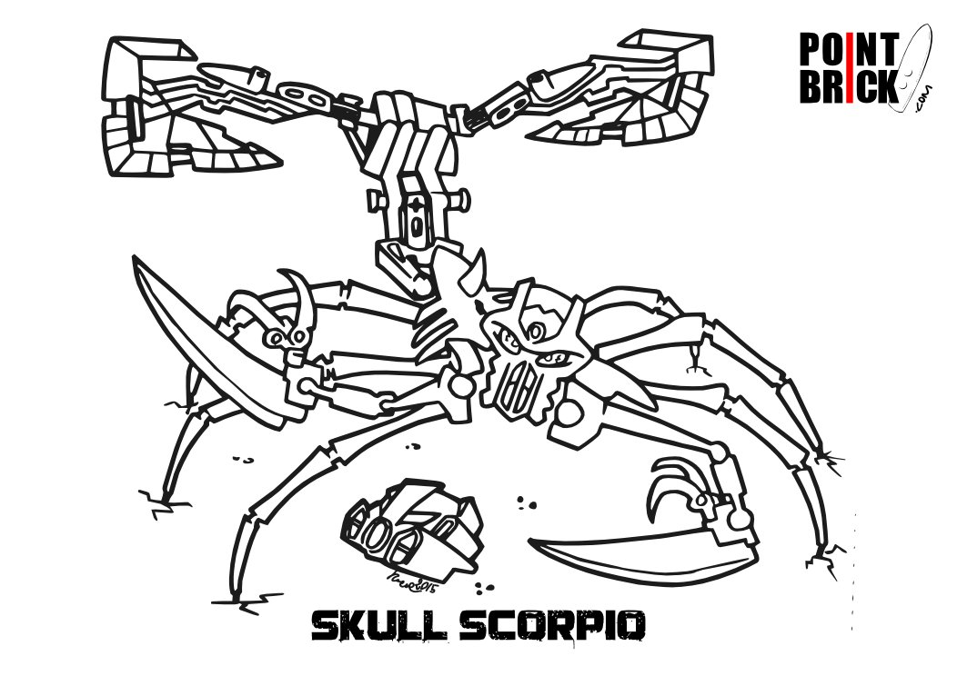 lego bionicle 2015 coloring sheets coloring pages