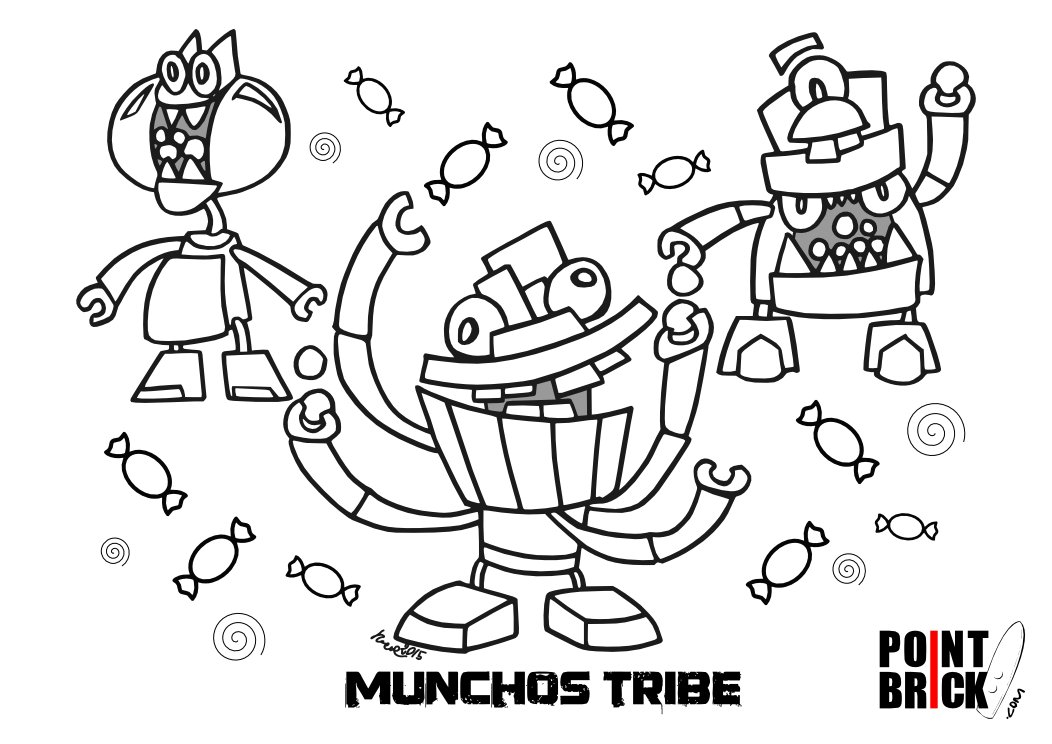 Mixels Coloring Pages Democraciaejustica