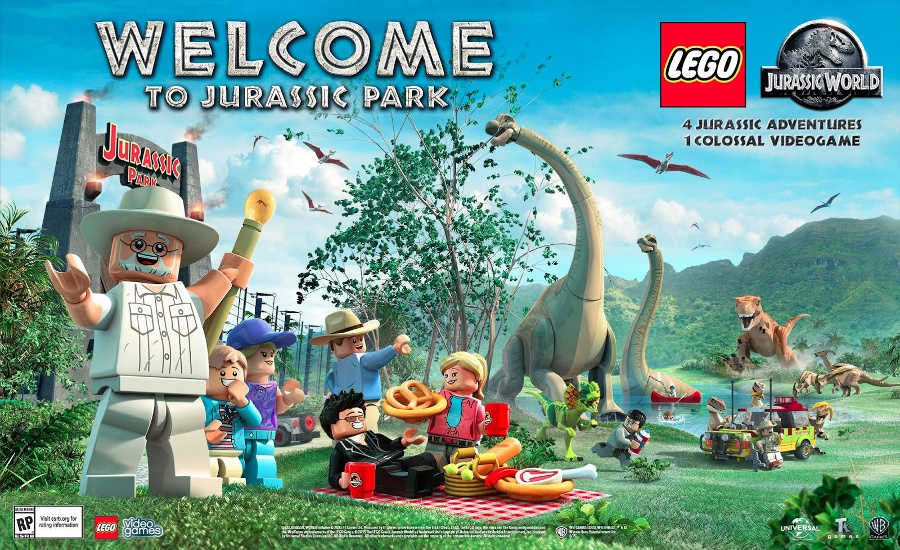 Point Brick Blog Lego Jurassic World Tutti I Personaggi Giocabili