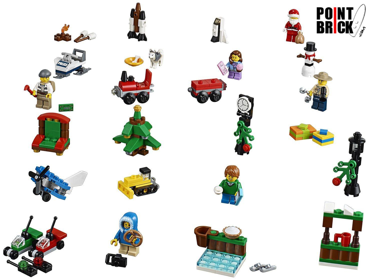 Calendario Avvento Lego City.Point Brick Blog Da Collezione Lego Calendario Dell