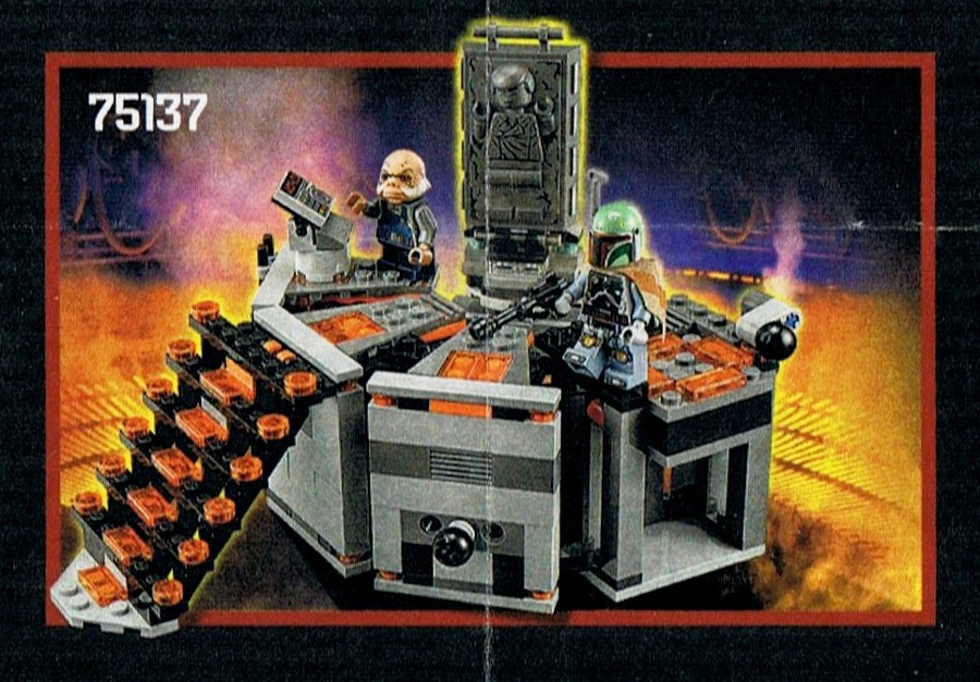 LEGO Star Wars - 75137 Carbon Freezing Chamber