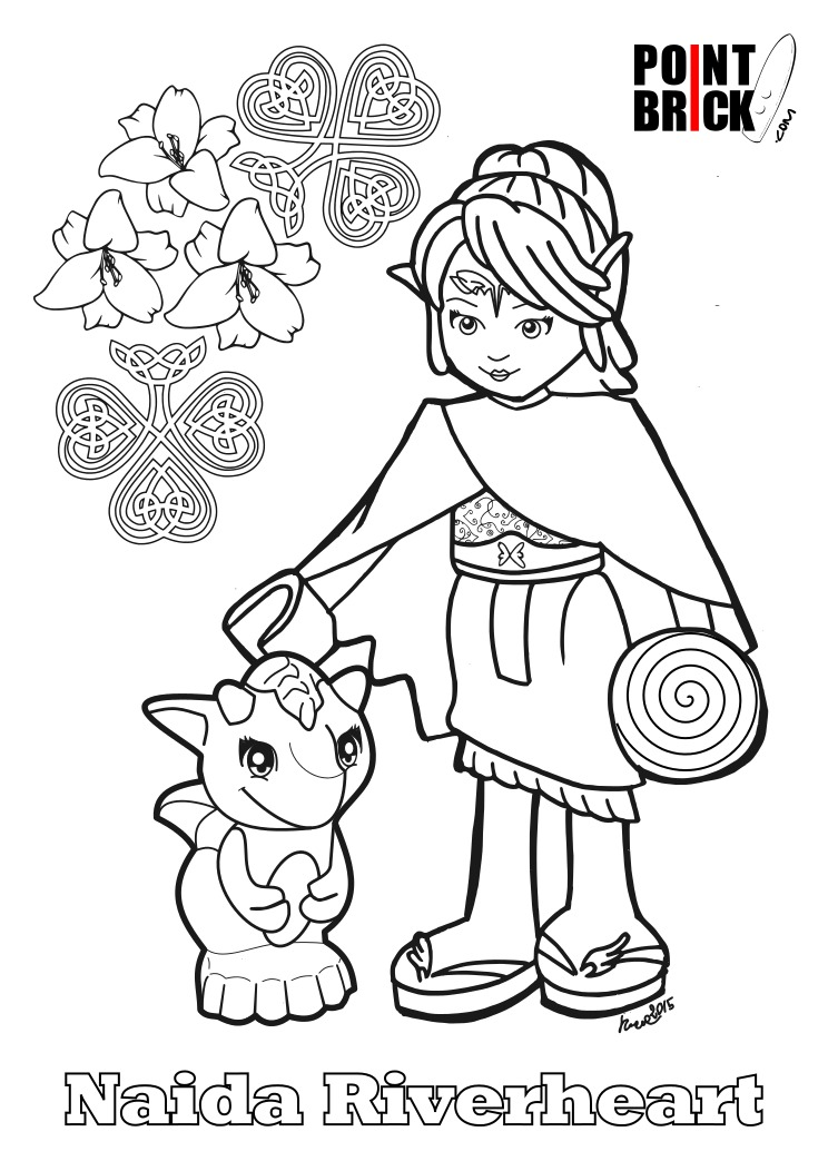 lego elves coloring pages - photo#14