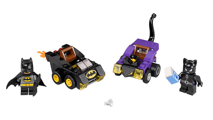 LEGO Mighty Micros - Dc Comics Super Heroes - 76061 Batman e Catwoman