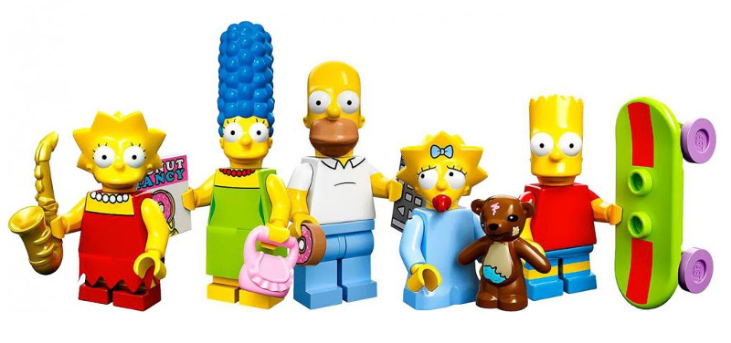 LEGO The Simpsons Minifigures Serie 1 - Simpson Family