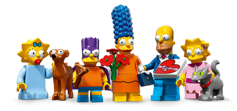 LEGO The Simpsons Minifigures Serie 2 - Simpson Family