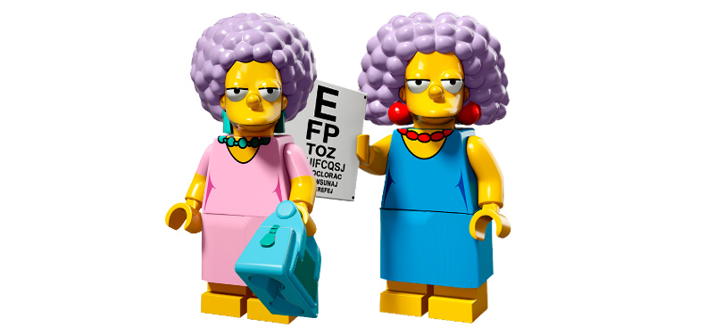 LEGO The Simpsons Minifigures Serie 2 - Patty & Selma