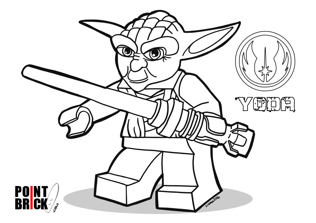 Coloring Pages Disegni Da Colorare LEGO Star Wars