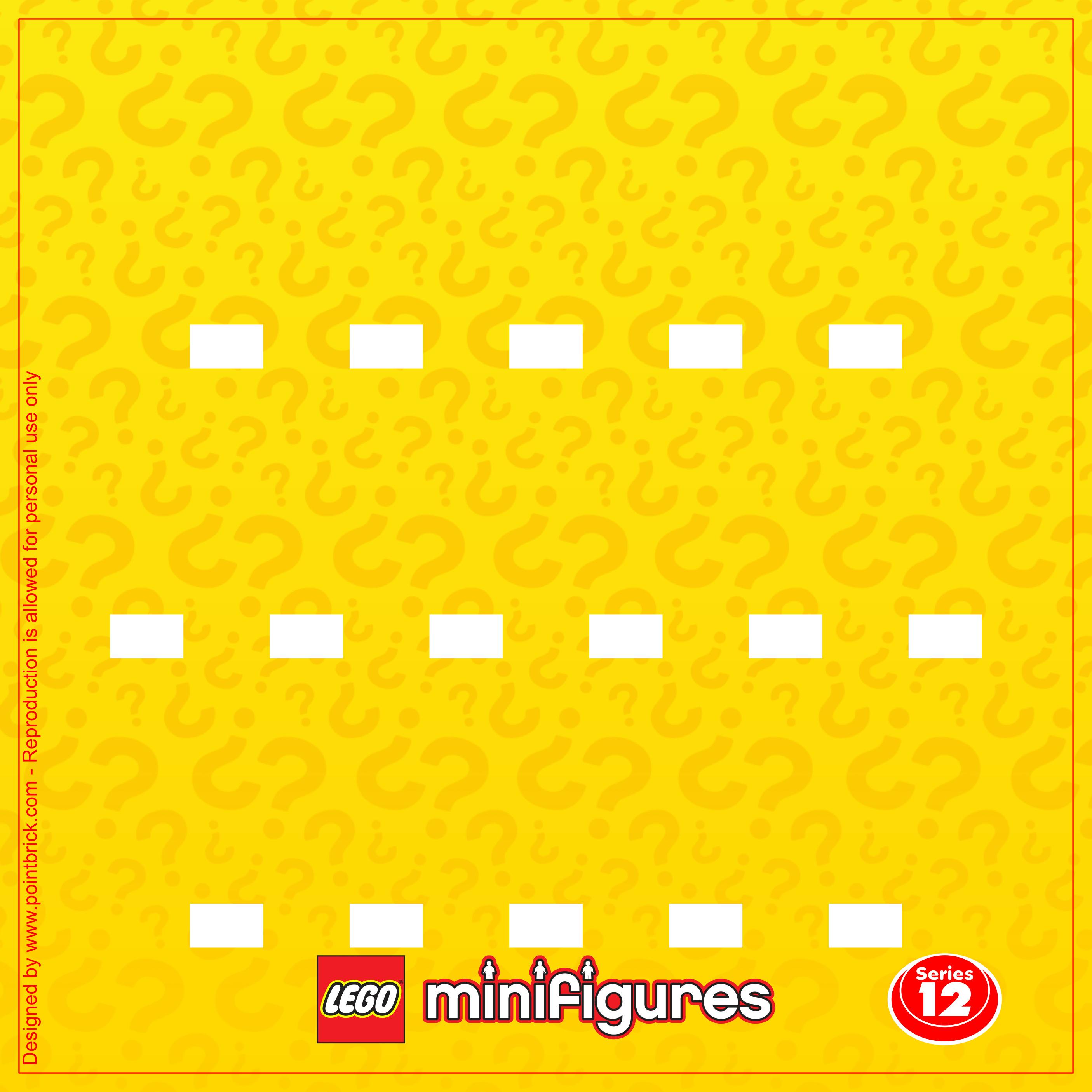 Point Brick Blog Lego Minifigures Display Sfondi Serie