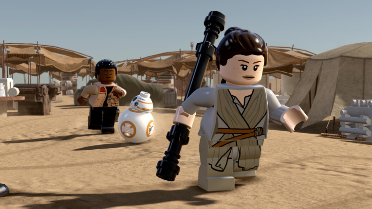 LEGO Star Wars The Force Awakens The Videogame - Guida ai livelli ITA - Avamposto di Niima