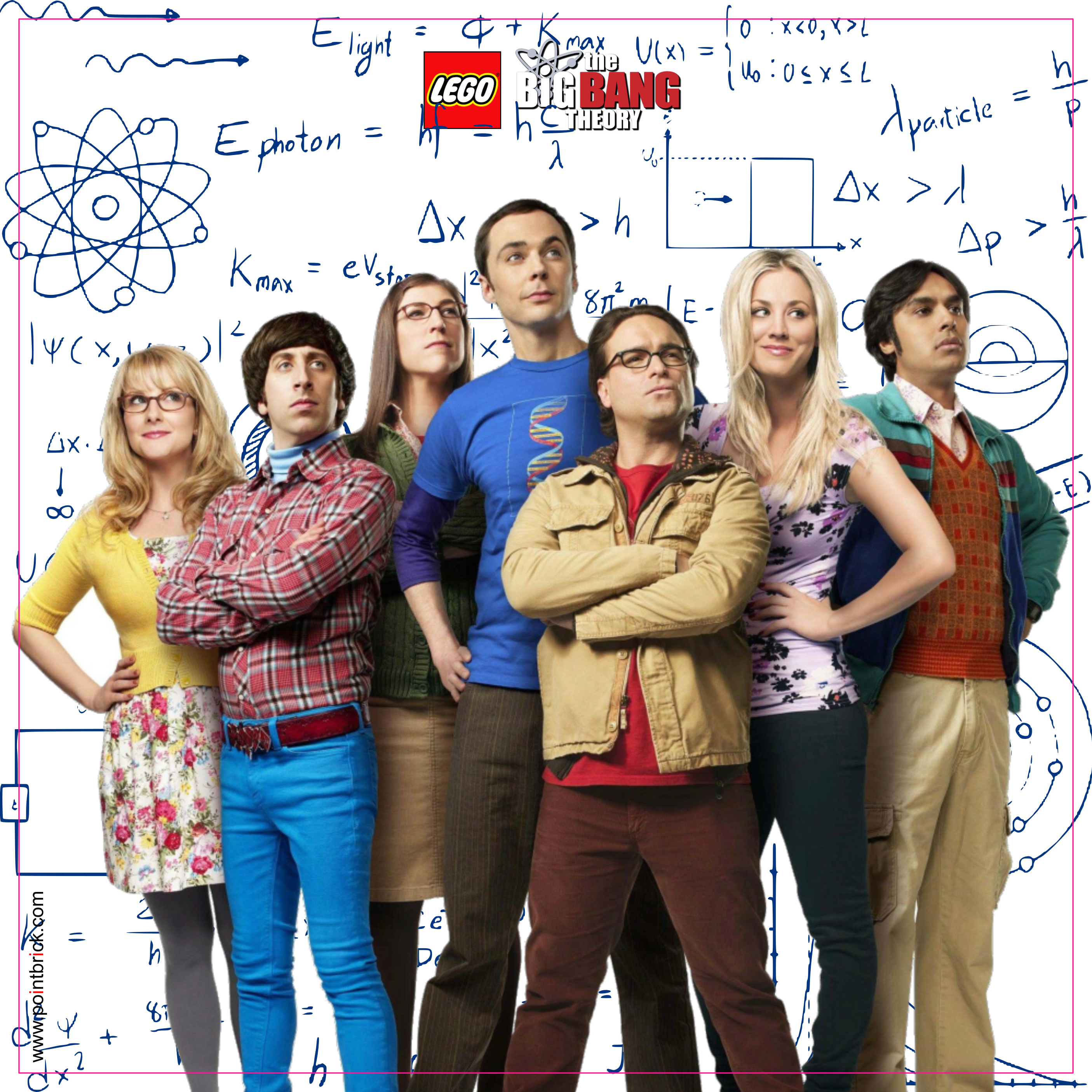 LEGO Minifigures Display Frame - Background 230mm The Big Bang Theory - Formula Plain - Clicca sull'immagine per scaricarla gratuitamente!