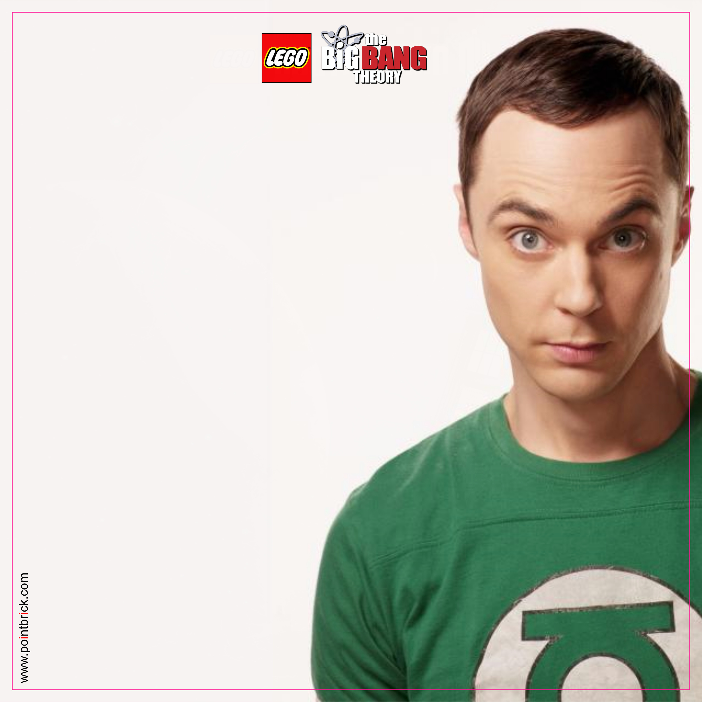 LEGO Minifigures Display Frame - Background 230mm The Big Bang Theory - Sheldon Plain - Clicca sull'immagine per scaricarla gratuitamente!