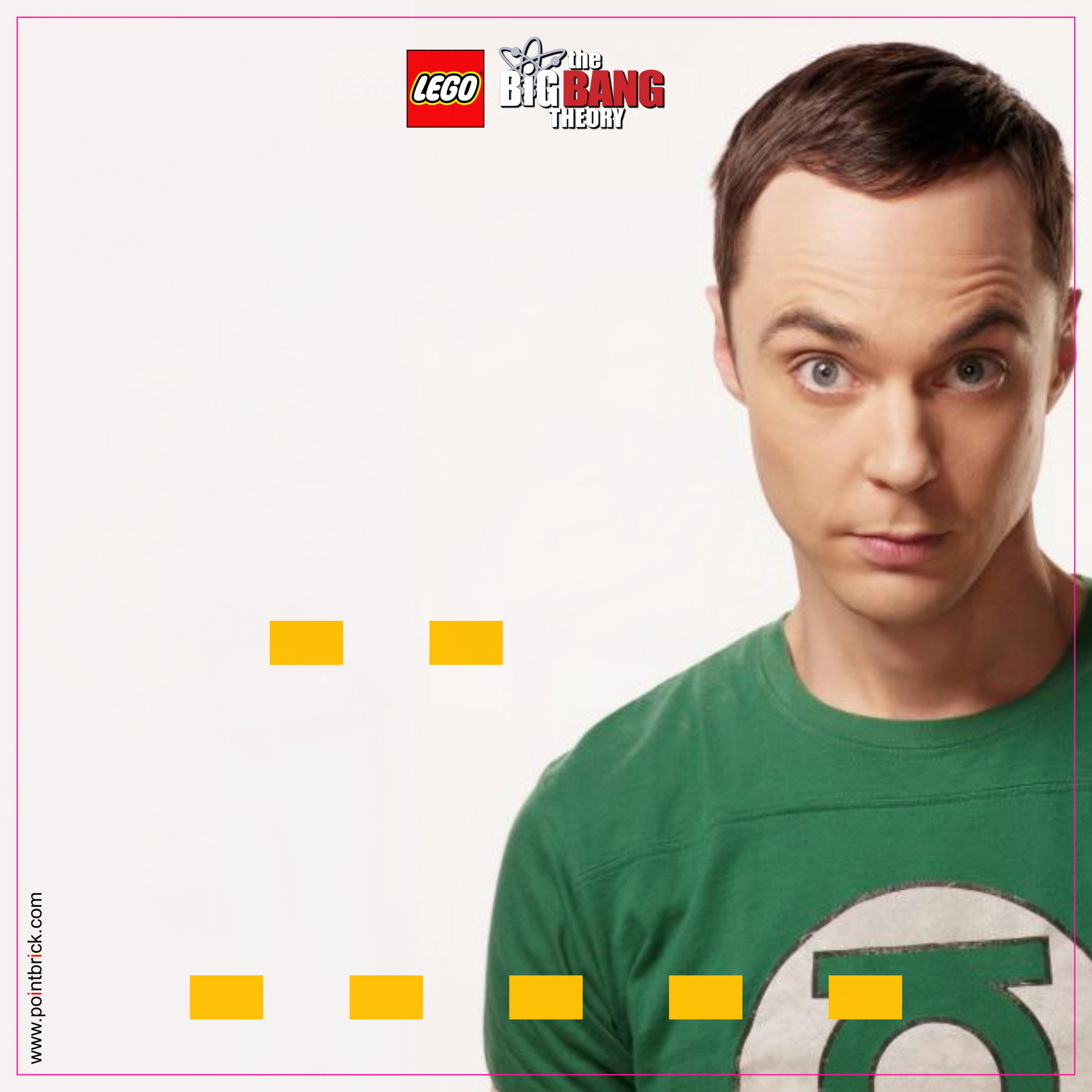 LEGO Minifigures Display Frame - Background 230mm The Big Bang Theory - Sheldon - Clicca sull'immagine per scaricarla gratuitamente!