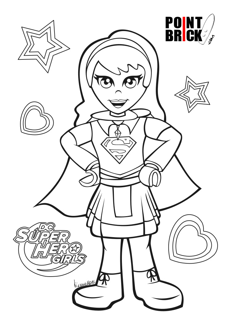 Point brick blog disegni da colorare lego dc comics for Girl lego coloring pages