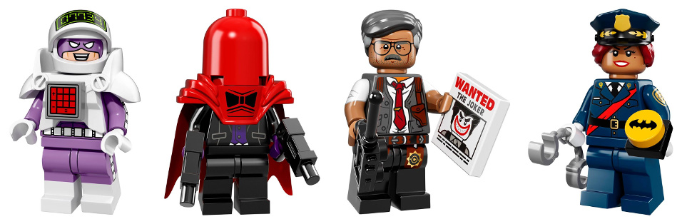 LEGO Minifigures 71017 Serie Speciale Batman The Movie - Calculator - Red Hood - Commissioner Gordon - Barbara Gordon