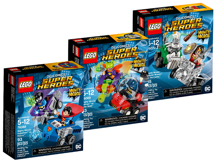 LEGO Mighty Micros Serie 2 Collezione set DC Comics Super Heroes