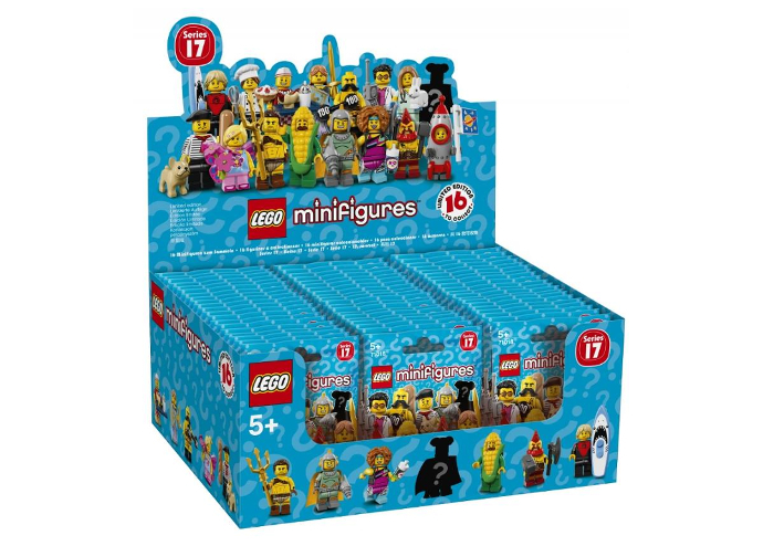 LEGO Minifigures 71018 Serie 17 - Box Art
