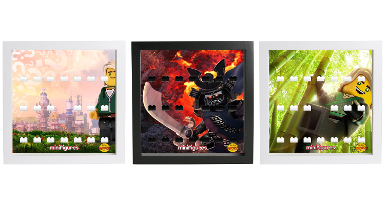 LEGO Minifigures 71019 The LEGO Ninjago Movie - Display Frame Backgrounds