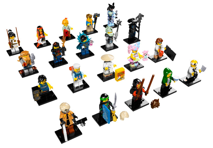 LEGO Minifigures 71019 The LEGO Ninjago Movie - Collezione Completa