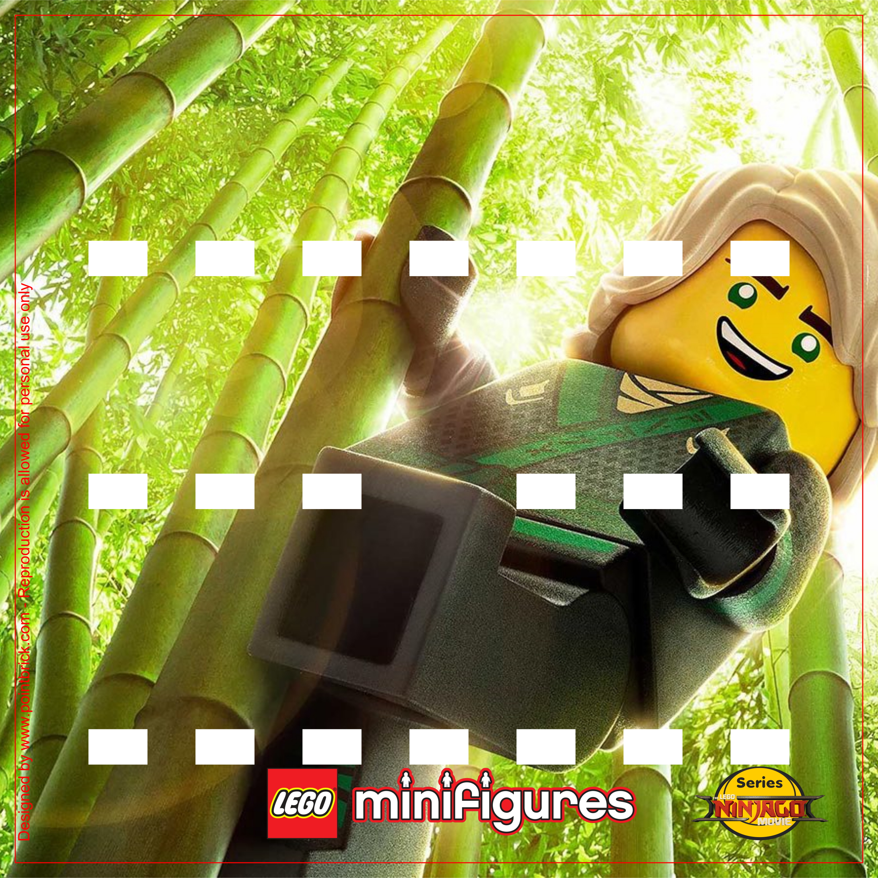 LEGO Minifigures 71019 The LEGO Ninjago Movie Lloyd - Display Frame Background 230mm - Clicca sull'immagine per scaricarla gratuitamente!
