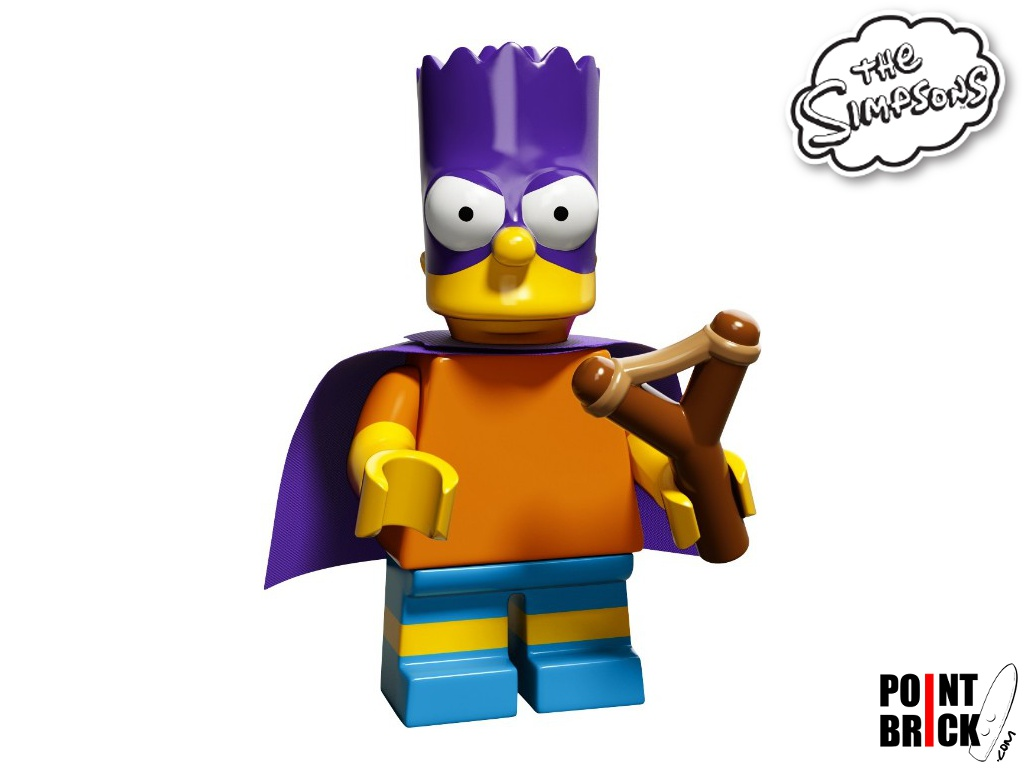 Dettaglio del set LEGO The Simpsons™ - 7100904 Bartman