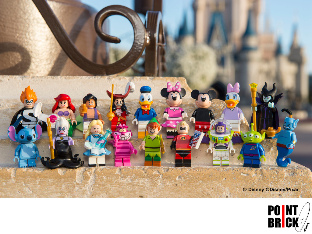 Dettaglio del set LEGO Minifigures - 7101202 Alieno di Pizza Planet