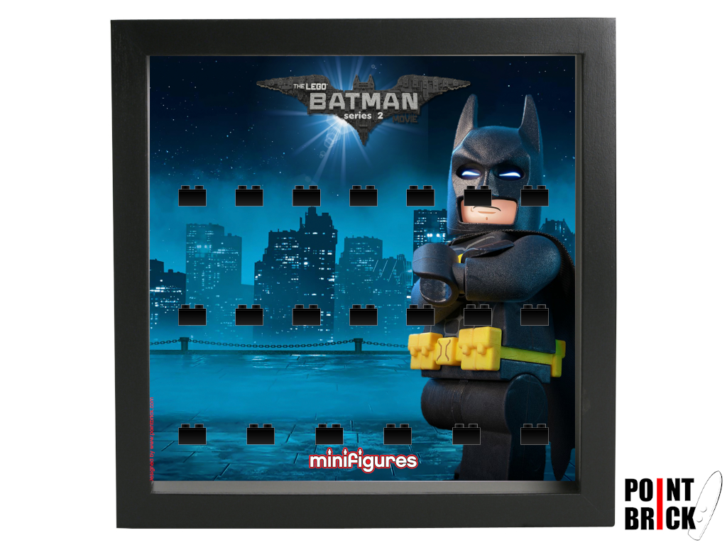 Dettaglio del set LEGO Display Frames / Cornici espositore per Minifigures - 7124990 Minifigures Display Frame The LEGO Batman Movie Serie 2 - 2N