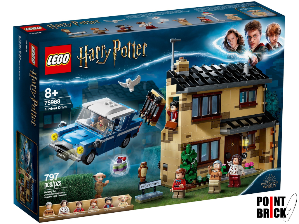 Dettaglio del set LEGO Harry Potter - 75968 Privet Drive, 4