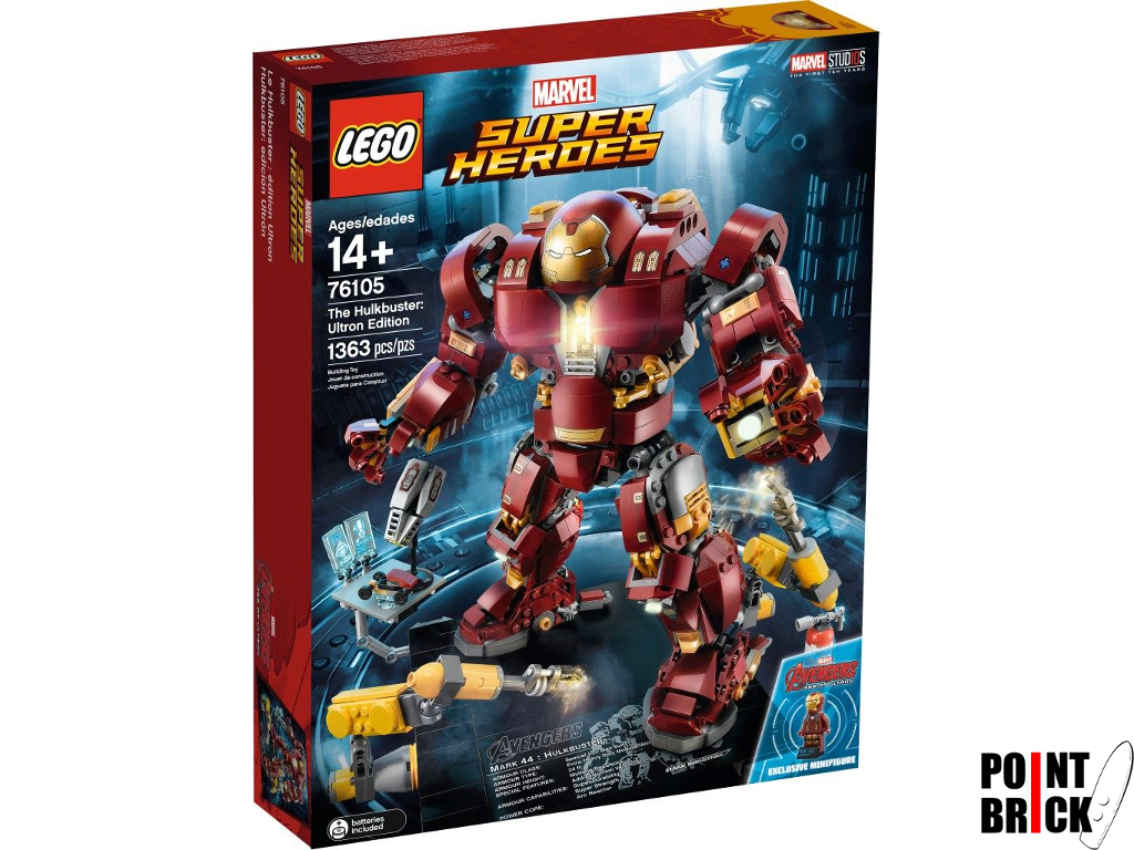 Dettaglio del set LEGO Marvel Super Heroes - 76105 Hulkbuster: Ultron Edition