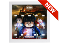 LEGO 7124903 - Minifigures Display Harry Potter Serie 2 - Fire - Bianco