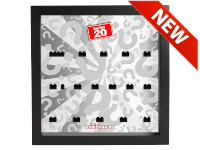 LEGO 7124908 - Minifigures Display Frame Serie 20 Classic - Nero