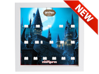 LEGO 7124969 - Minifigures Display - 71022 Harry Potter Serie 1 - Hogwarts Bianco