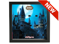 LEGO 7124970 - Minifigures Display - 71022 Harry Potter Serie 1 - Hogwarts - Nero