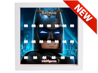LEGO 7124991 - Minifigures Display - 71020 Batman Movie Serie 2 - Mask - Bianco