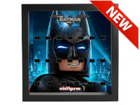 LEGO 7124992 - Minifigures Display - 71020 Batman Movie Serie 2 - Mask - Nero