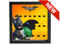 LEGO 7125002 - Minifigures Display Frame Serie Batman Movie - 2 Nero