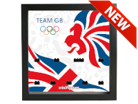 LEGO 7125028 - Minifigures Display - 8909 Team GB - London Olympics 2012 - Nero